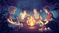 """ I Solemnly swear that I Am up to no good""! A Marauders Fanart From The Harry Potter Book Series."