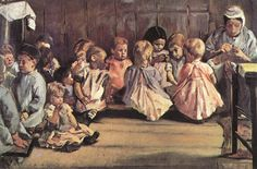 Infants school by Max Liebermann
