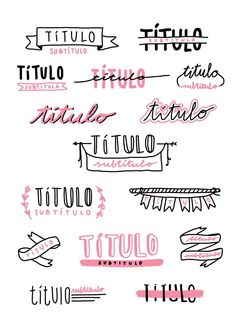 Bullet journal and notes titles inspo Bullet Journal Headers, Bullet Journal Writing, Bullet Journal School, Bullet Journal Ideas Pages, Bullet Journal Inspiration, Bullet Journals, Daily Journal, Bullet Journal Ideas Handwriting, Study Inspiration