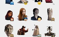 Doctor Who Stickers Set | Telegram Stickers