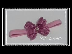 Como fazer Laço Mil Faces Butterfly RN Diy ,Tutorial ,Pap By Iris Lima How To Make a Hair Bow - YouTube