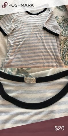 Brandy Melville shirt In good condition, worn new few times Brandy Melville Tops Tees - Short Sleeve