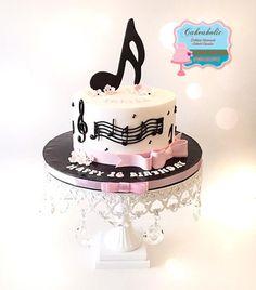 Music cake - Cake by Cakeaholic22