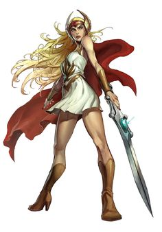 """""""She-Ra - Princess of Power"""" by Alvin Lee"""