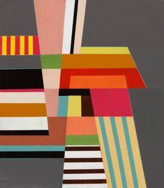 "Saatchi Art Artist Alyson Khan; Painting, ""Adaptive Capacity Described in Blocks of Color"" #art"