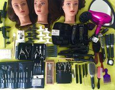 AVEDA Cosmetology Student Kit and travel bag/Nails/4 hot tools