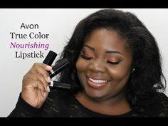 Avon True Color Nourishing Lipstick Swatches on WOC Avon Lipstick, Lipstick Swatches, Lipsticks, Winter Makeup, Spring Makeup, First Date Makeup, Saint Patricks Day Makeup, Oily Skin Makeup, Cover Girl Makeup
