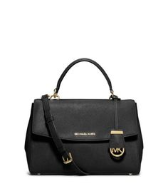 MICHAEL MICHAEL KORS  Ava Medium Saffiano Leather Satchel $298