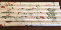 Waverly Wallpaper Pink Floral White 5504212 Run 32748 of 6 Double Rolls New | eBay