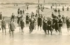 Vintage Swimmers - Long Beach, NY