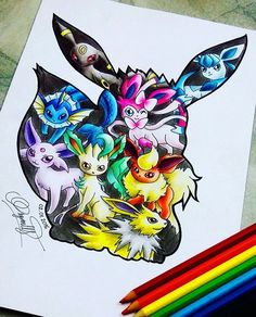 Another awesome artwork by green4ever0108 Which eeveelution is your favorite? Flaeron  _______________________________ Follow @pokemon.Artwork for more crazy pokeart  _______________________________ #pokemon #Nintendo #gaming #gamer #nerd #geek #nerdy #retro #oldschool #nostalgia #childhood #childhoodmemories #Art #artwork #drawing #pencil #anime #pocketmonsters #manga