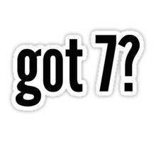 Got 7? Sticker