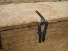 replica oseberg 149 or 178 chest hinge  made by Oddleiv Steinkjer for the Nytt Oseberg Skip