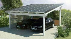 cocheras con paneles solares - Buscar con Google