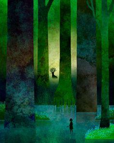 The Art Of Animation — Nokkasili Illustrations, Illustration Art, Animation, Art Graphique, Tree Art, Book Art, Fantasy Art, Concept Art, Game Concept