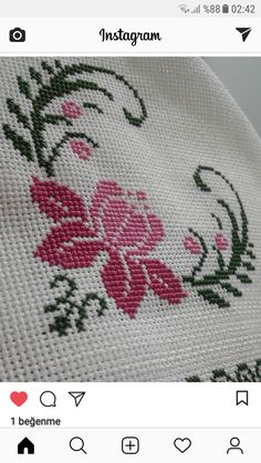 Dilek Saltuk Çetin's media content and analytics Cross Stitch Cards, Cross Stitch Borders, Modern Cross Stitch, Cross Stitch Flowers, Cross Stitch Designs, Cross Stitching, Cross Stitch Patterns, Needlepoint Designs, Needlepoint Kits