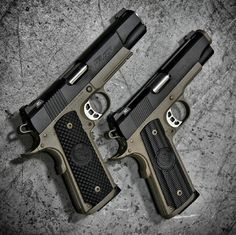 Custom 1911, guns, pistols, weapons, self defense, protection, 2nd amendment, America, firearms, munitions #guns #weapons