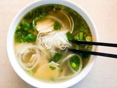 Pho Ga: Vietnamese Chicken Noodle Soup ~ https://steamykitchen.com