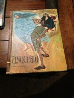 Pinocchio by Carlo Collodi by AntiqueLand on Etsy, $9.99