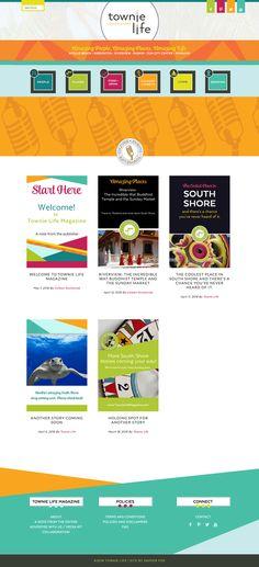 TOWNIE LIFE   branding + website design — Dapper Fox Design - Branding + Website Design