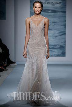 Brides.com: Mark Zunino for Kleinfeld - Fall 2015%0A%0A                        Wedding dress by Mark Zunino%0A %0A                        %0A                         %0A                            Photo: Thomas Iannaccone%0A                        %0A