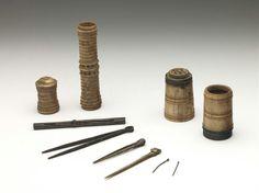 Writing set 16th century Museum Boijmans Van Beuningen,  check ALMA: http://alma.boijmans.nl/en/