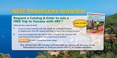Win a #Tuscany Vacation!