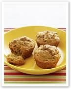 Wholemeal apple muffins recipe - By Woman's Day (NZ edition), Wholemeal apple muffins