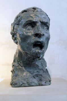 Émile-Antoine Bourdelle, Le Cri, bronze, 1894-1900. Étude pour le Monument aux Combattants et aux Défenseurs du Tarn-et-Garonne de 1870-1871.