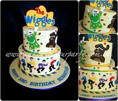 Wiggles Cake with Dorothy and Wags the Dog