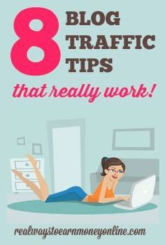 This post will give you some tips you can put to work for yourself TODAY to start seeing a steady stream of traffic to your website. They will work if you use them! Eigener Blog, Blog Tips, Marketing Digital, Content Marketing, Internet Marketing, Blogging Ideas, Make Money Blogging, Earn Money, Make Money Online