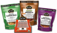Go Raw found this granola and snack and love them and so help my blood sugars and fit in perfect for my food changes