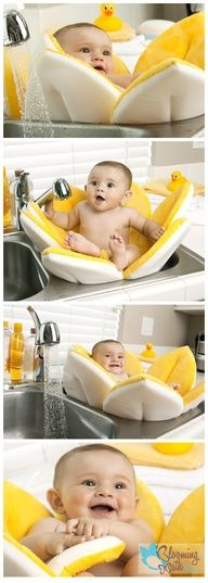 I really want one of these this time around! Blooming bath!