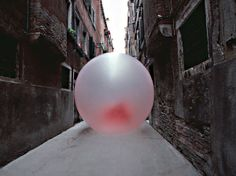 Artist Sticks A Giant Piece Of Chewed Gum On Venice's Streets - DesignTAXI.com