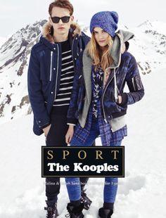Jakob & Malina for The Kooples Sport FW13 #thekooples #campaign