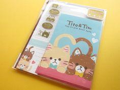 Kawaii Cute Letter Set Mind Wave *Tito & Tim (38228)