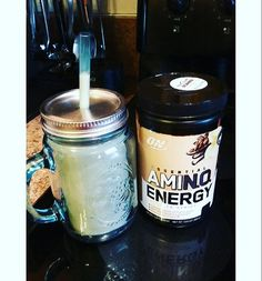 "17 Likes, 5 Comments - Taryn Ashley (@tarynashleyfit) on Instagram: ""Coffee flavored Amino Energy is seriously my all time favorite. Blended 4 scoops with unsweetened…"""