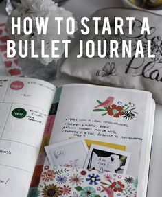An easy step-by-step guide to starting a Bullet Journal (Bujo) today! Learn what a Bujo is, materials needed, and how to create each section. #bujo #bulletjournal #bulletjournalinspiration #bujolove