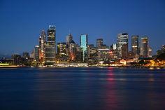 Sydney CBD from Milsons Point