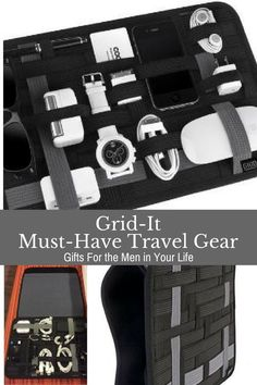 Grid-It is perfect for the on-the-go traveler to organize all your tech gear.
