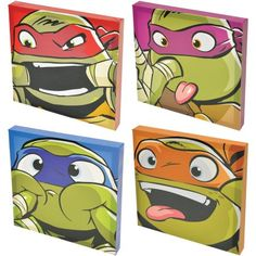 Free 2-day shipping on qualified orders over $35. Buy Ninja Turtles Canvas Wall Art, 4pk at Walmart.com