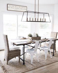 modern farmhouse dining room chandelier lighting lantern style