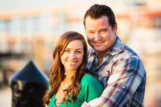Lovely harbor engagement session. Photo by Hunter Ryan Photo
