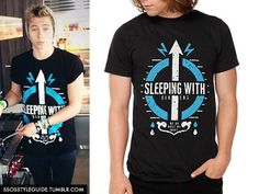 Luke Hemmings: Sleeping With Sirens - We Do What We Want Tee Exact (Sold Out)