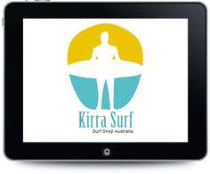 Diseño de logotipo para Kirra Surf.