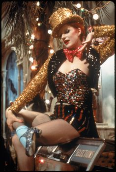 Halloween Inspiration: The Rocky Horror Picture Show.If I can find something similar to this you bet this will be my 2013 halloween costume. Rocky Horror Show, Columbia Rocky Horror, The Rocky Horror Picture Show, Cabaret, Rock And Roll, Horror Costume, Broadway, Hollywood, Shows