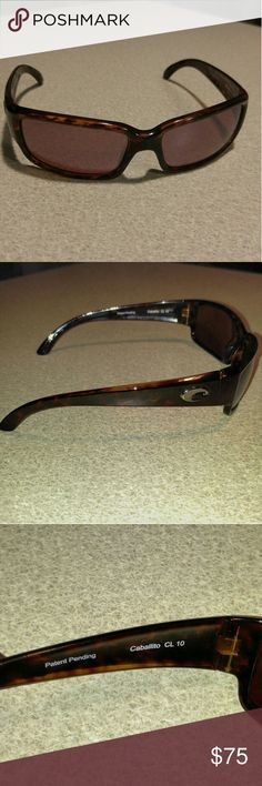 ?? Costa Cabalito singlasses New, gently used Costa Cabalito sunglasses with polarized 580p lens. Tortoise shell frames. In great condition. Costa Del Mar Accessories Glasses
