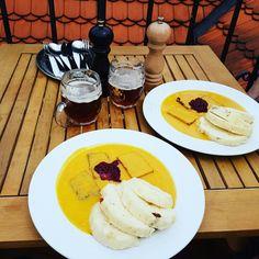 Vegan Sviečková in Prague...yummy www.nowistheknowing.com