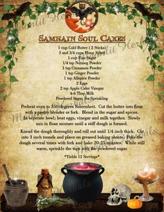 A new addition to our line of digital Book of Shadows pages, our Samhain page set comes with 5 pages; including a decorative divider page, a Samhain correspondence page, a decorative blank page for you to add your own rituals, recipes, etc to, and two recipe pages featuring delicious Soul Cakes and Celtic Colcannon recipes from my personal Kitchen Witch Cookbook!  ☆More Book of Shadows page sets coming soon!☆  PLEASE NOTE: This listing is for a DIGITAL sheet set, these are not hard copies,