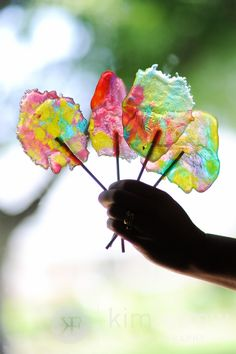 Stained Glass Lollipop How-to